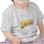 Kindheits-Krebs-Überlebend-Blumen-Band Tshirt