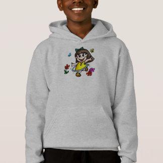 KindHula Band-Mädchen-T-Shirt Hoodie