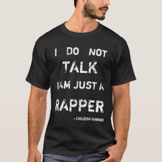 Kindisches Gambino Lyrik-T-Stück T-Shirt