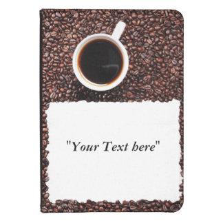 Kindle 4 Hülle Kaffeemotiv mit Textfeld