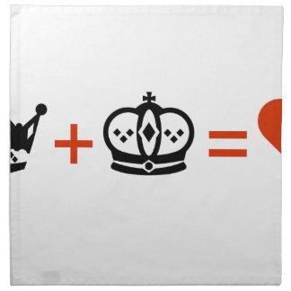 king_plus_queen_equals_love2.ai serviette