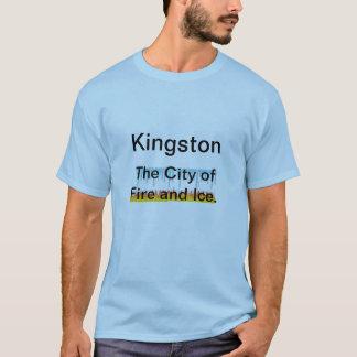Kingston, die Stadt des Feuers und des Eises T-Shirt