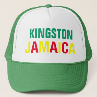 KINGSTON JAMAIKA (Hut) Truckerkappe