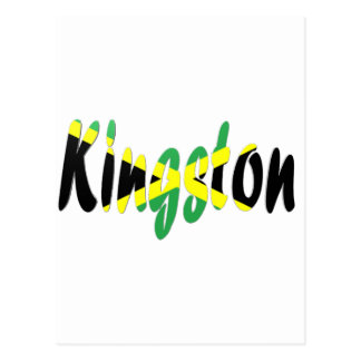 Kingston, Jamaika Postkarte