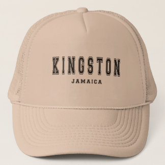 Kingston Jamaika Truckerkappe