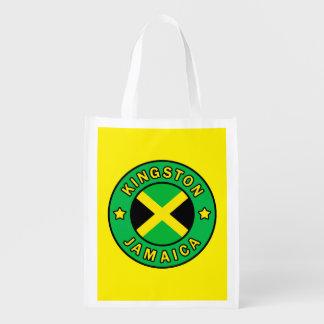 Kingston Jamaika Wiederverwendbare Einkaufstasche