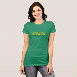 Kingstonians verbessert es T-Stück T-Shirt