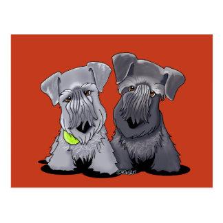 KiniArt Cesky Terrier Postkarte