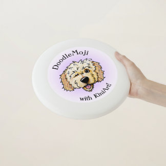 KiniArt DoodleMoji GekritzelFrisbee Wham-O Frisbee