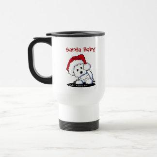 KiniArt Sankt Westie Hundegeschenke Reisebecher