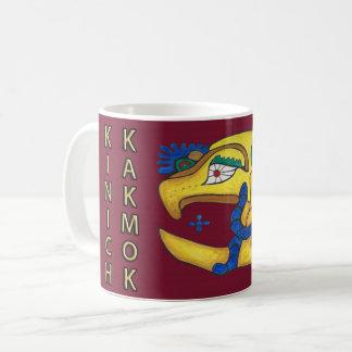 KINICH KAKMOK- ROTES MAYAmitternachtsgold coast Kaffeetasse