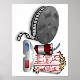 Kino 3D Plakatdruck