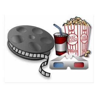 Kino 3D Postkarte