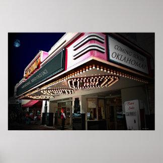 Kino beleuchtet 6 x 24 Plakat