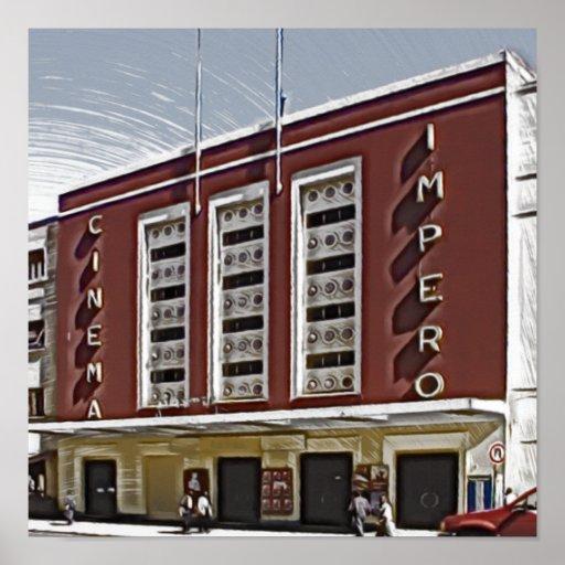 Kino Impero, Asmara Posterdruck
