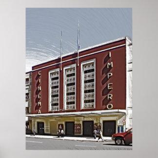 Kino Impero Asmara Posterdruck