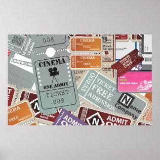 Kino-Karte Poster