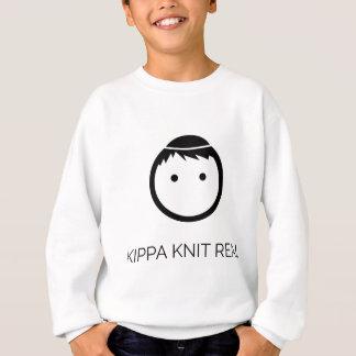 Kippa Strick wirklich - Schwarzes Sweatshirt
