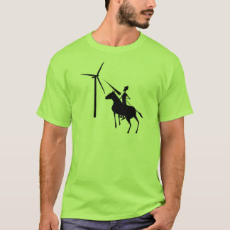 Kippen am Turbine-T - Shirt