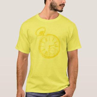 Kippen von Uhr-Taschen-Uhr-GesichtTimepiece T-Shirt