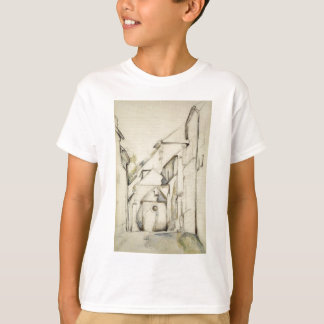 Kirche des Saint Pierre in Avon durch Paul Cezanne T-Shirt