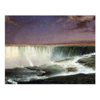 Kirche Frederic Edwin - Niagara Postkarte