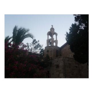 Kirche im Libanon Postkarte