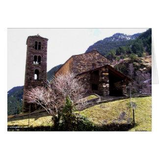 Kirche in Andorra Karte