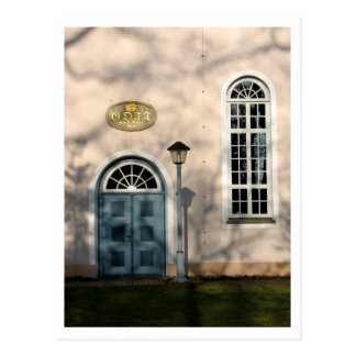 Kirche in Fischerhude Postkarte