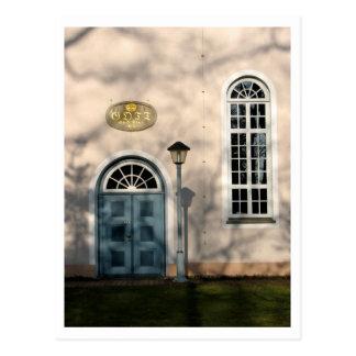 Kirche in Fischerhude Postkarten