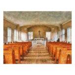 Kirche - innerhalb einer Kirche Bedruckte Flyer