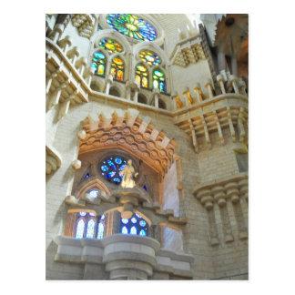 Kirche LaSagrada Familia Postkarte