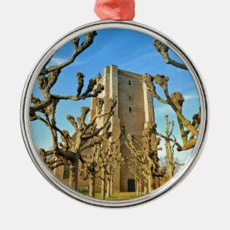 Kirche Sint Anna ter Muiden in Sluis, die Silbernes Ornament