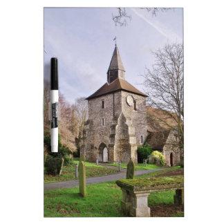 Kirche St. Stephens im Januar Memoboard