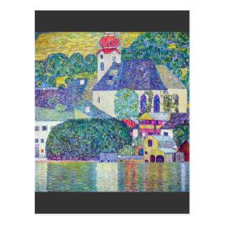 Kirche St. Wolfgang durch Gustav Klimt Postkarte