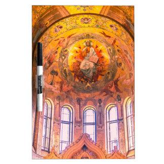 Kirche unseres Retters auf dem verschütteten Blut Trockenlöschtafel