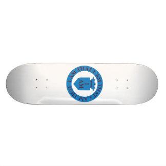 Kirche von bin mir skateboard deck