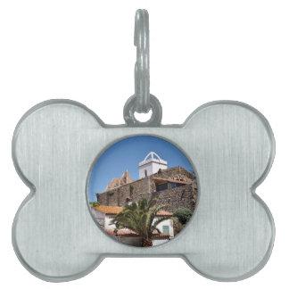 Kirche von El Port de la Selva in Spanien Tiermarke