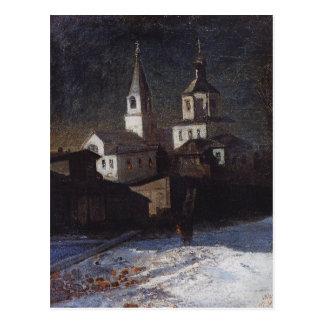 Kirche von Elija das Übliche in Moskau durch Postkarte
