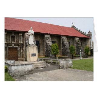 Kirche von Guiuan Karte