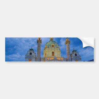Kirche von Heiligem Charles, Wien Autoaufkleber