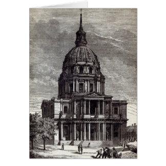 Kirche von Invalides, Grab von enthalten Grußkarte