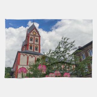 Kirche von St Bartholomew, Lüttich, Belgien Handtuch