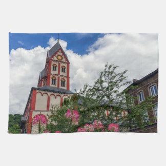 Kirche von St Bartholomew, Lüttich, Belgien Küchentuch