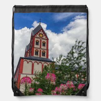 Kirche von St Bartholomew, Lüttich, Belgien Turnbeutel