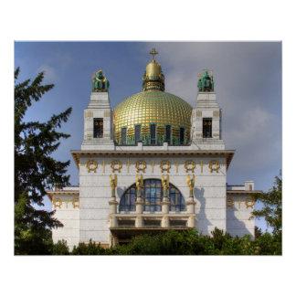 Kirche von St. Leopold Wien Österreich Poster