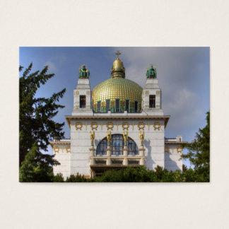 Kirche von St. Leopold Wien Österreich Visitenkarte