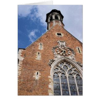 Kirche von St Mary Magdalene - Brüssel, Belgien Grußkarte