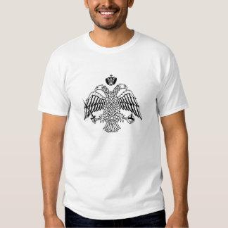 Kircheflagge Mount Athos religiös T-Shirts