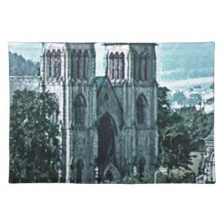Kirchen-Kunst snap-38977 Schottlands Inverness Stofftischset